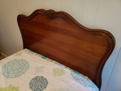 Solid Cherry Antique Twin Beds
