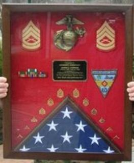 Shadow Box w/ flag space!!!