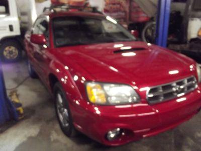 2005 Subaru Baja Turbo (Garnet Red Pearl)