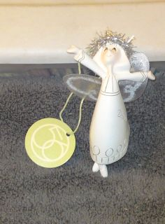 """OTH 23 -034 Department 56 Whispers December Angel Ornament 4 1/2"""" - NEW"""