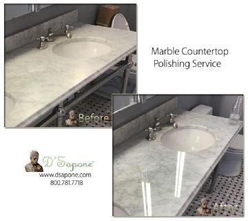 Marble Countertop Restoration Service