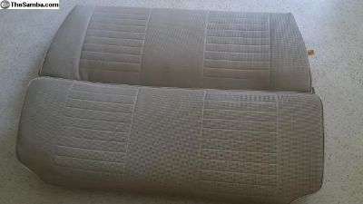 Late beetle rear seat nice condition