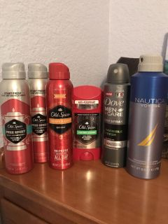 Men s deodorant and body sprays asking $15 for all
