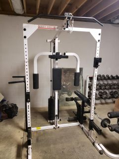 Body Solid home gym.