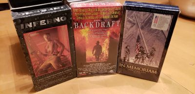 3 vhs tapes