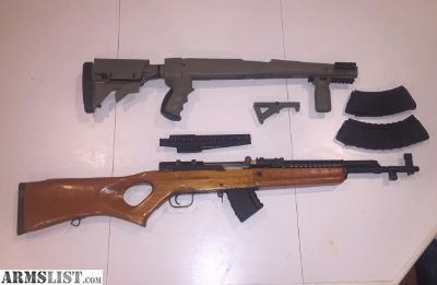 For Sale: Sporter SKS (ak mags)