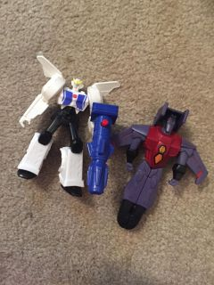 Transformers about 4.5 tall set of two