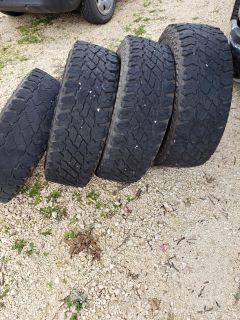 4 Used 245/75R16 Discover Cooper Tires