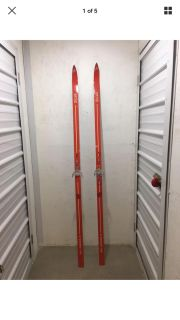 Vintage Skis Made By Silva