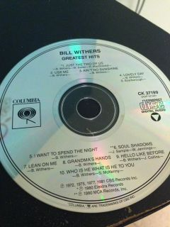 Bill Withers Greatest Hits cd