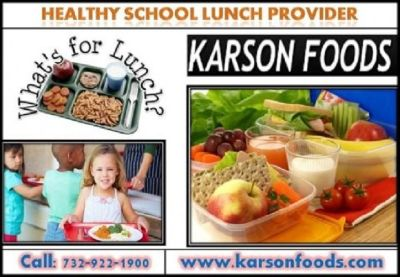 Healthy School Food Service Program in NJ | Karson Foods