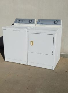 Very Clean Maytag Heavy Duty, Supersize Capacity Matching Washer & Electric Dryer