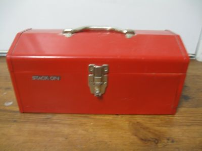 Stack-On Metal Tool Box