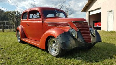 1937 ford frame off restored trade for chevelle cv