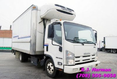 2012 Isuzu NPR 16ft Refrigerated Truck