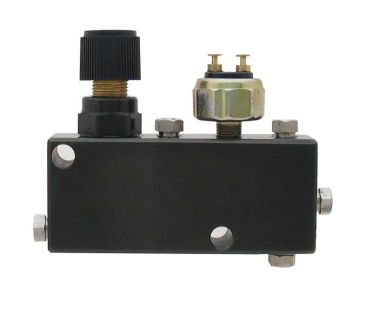 Buy Adjustable Proportioning Valve + Distribution Block w/Brake light sensor Hot rod motorcycle in Winder, Georgia, US, for US $75.00