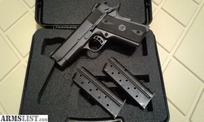 For Sale: Rock Island 51643 - 9mm Compact 1911 - 2 x 8 round mags - original box