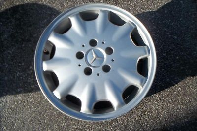 "Sell OEM MERCEDES E-Class E300D E320 WHEEL RIM 1996 1997 1998 1999 16"" #65168 motorcycle in Aston, Pennsylvania, US, for US $92.99"