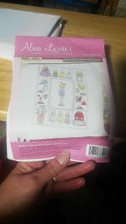 New Pretty Paper Doll Baby Quilt Top