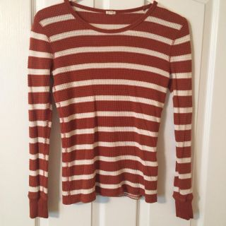 J Crew thermal top size small