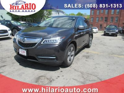 2016 Acura MDX SH-AWD 4dr (Graphite Luster Metallic)