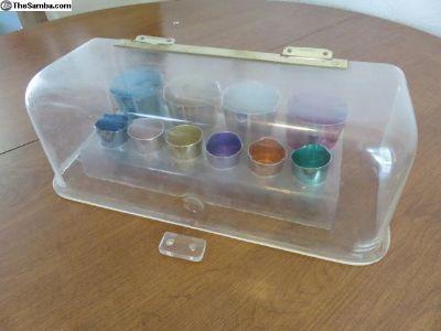 So-23 westfalia bar set - breadbox & cups