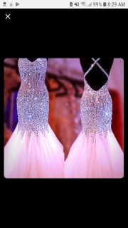 Peach coral dress brand new