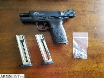 For Sale: M&P 22 Compact Threaded Barrel Like New PRICE REDUCED