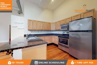 INCLUDES OFFICE!! Modern 1 bed in Mount Vernon w/laundry, elevator & more!