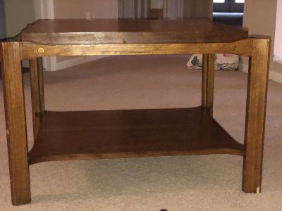 Wood End Table / Coffee Table