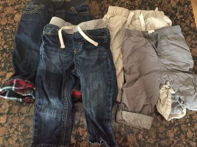 Lot of boys 12-18 month pants