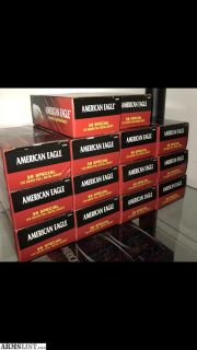 For Sale: American Eagle 38 Special Ammo