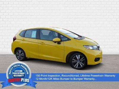 2018 Honda Fit EX-L Navigation (Helios Yellow Pearl)
