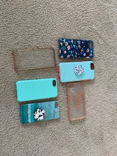 6s, 7, 8 iPhone cases-Otterbox, Vera Bradley, VS Pink