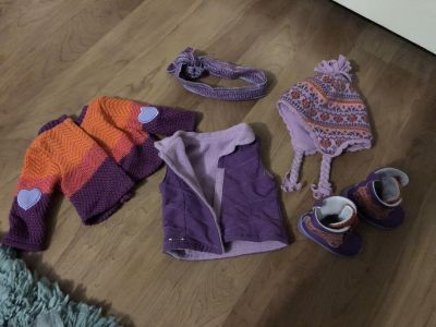 American girl doll winter outfit.