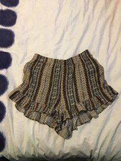 Forever 21 bohemian chic shorts