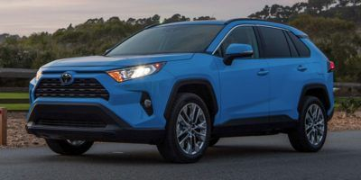 2019 Toyota RAV4 XLE FWD (Blue)