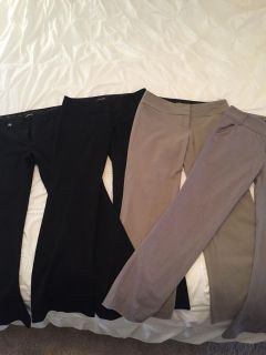 4 pairs of size 6 business pants