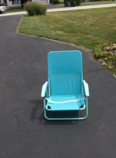 LOW SEATING LAWN CHAIR