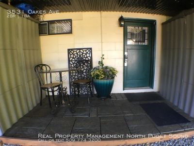 Adorable 2 Bed/1 Bath Basement Apartment In Everett - A Must See!