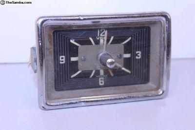 1967 12V Bus Dash Clock 13/21 Window Working