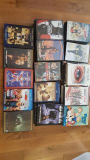 Lot (51) DVD's plus (6) box sets various movies and TV series