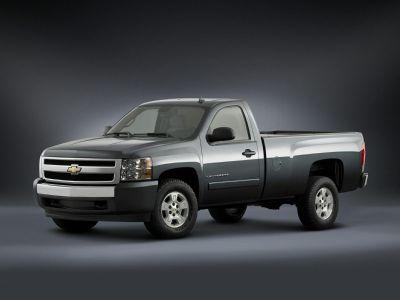 2008 Chevrolet Silverado 1500 Work Truck (Dark Cherry Metallic)