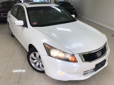 2008 Honda Accord EX-L (White Diamond Pearl)