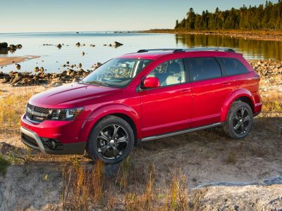 2019 Dodge Journey Crossroad (Blood Orange Clearcoat)
