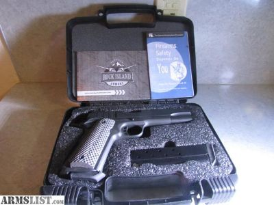 For Sale: ROCK ISLAND ARMORY M1911 AT FS TACT II 10MM LNIB