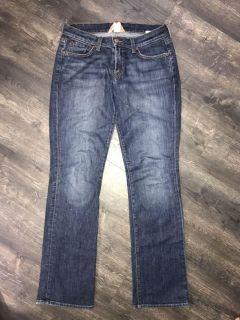 Lucky Brand bootcut jeans. So soft! Tagged size 6, but fit a little bigger.