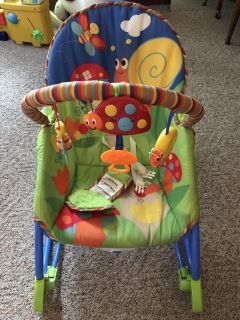 Infant to toddler rocker/chair
