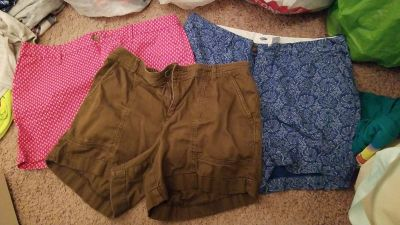 Womans old navy shorts lot of 3