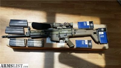 For Sale: FNH SCAR 17 .308 WIN ACOG And 7mags